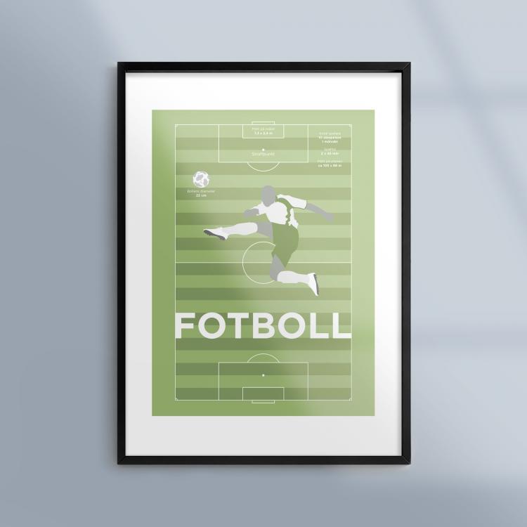 En tavla om fotboll