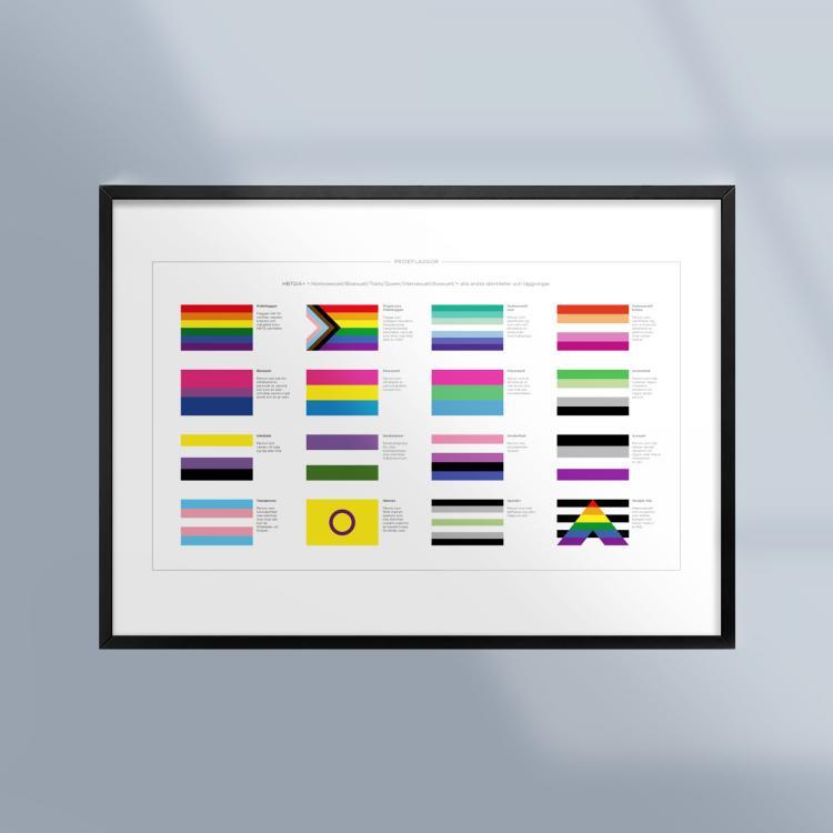 Poster-Pride-Flaggor-HBTQ-Ram-Kunskapat