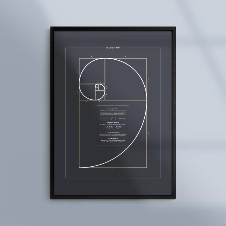 Poster-Matematik-Gyllene-Snittet-Fibonacci-Ram-Kunskapat